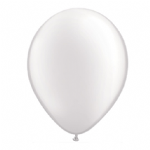 "Qualatex 11 inch Balloons - Pearl White 11"" Balloons (Pastel 25pcs)"